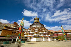 Tibetan Stupa Stock Foto's