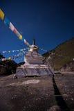 tibetan stupa Arkivbilder