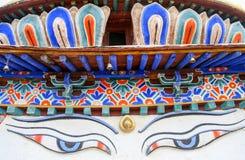 Tibetan Stupa close up Royalty Free Stock Images