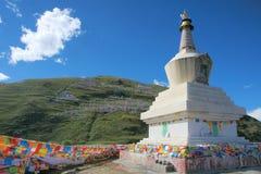Tibetan stupa Stock Images