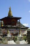 Tibetan stupa van het Boeddhisme royalty-vrije stock fotografie