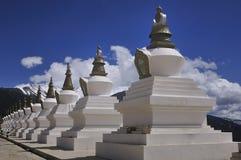 Tibetan Stupas Stock Foto