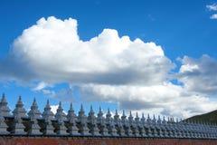 Tibetan stupas Stock Photo