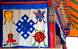 Tibetan style Royalty Free Stock Photo