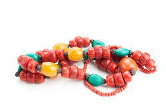 Tibetan style necklace Stock Images