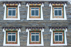 Tibetan-style Residence Stock Photography