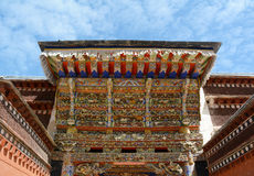 Tibetan Style Temple(Gannan) Royalty Free Stock Photo