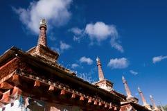 Tibetan symbol Stock Image