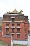 Tibetan tempel Stock Afbeeldingen