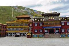 Tibetan tempel Fotografering för Bildbyråer