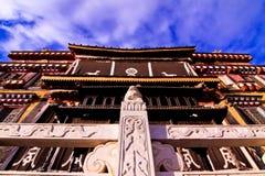 Tibetan tempel Arkivfoton
