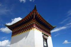 Tibetan tempel stock afbeelding