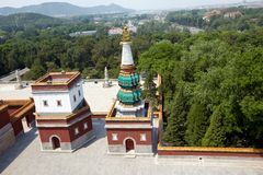 Tibetan temple Stock Photo