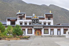Tibetan temple Stock Photography