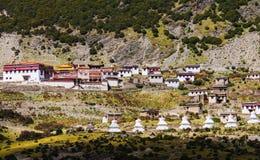 Tibetan temple Stock Image