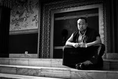 The Tibetan Temple of Bodh Gaya, India Royalty Free Stock Photography