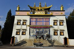 Tibetan Temple, China Stock Images
