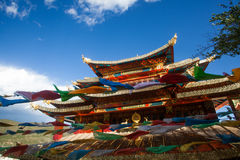 Tibetan temple Royalty Free Stock Image
