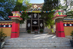 Tibetan temple Stock Images