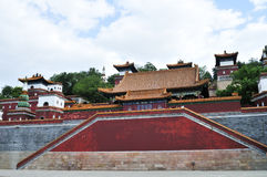 Tibetan temple Royalty Free Stock Photos