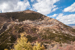 Tibetan temples Stock Photography