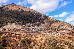 Tibetan temples Royalty Free Stock Photo