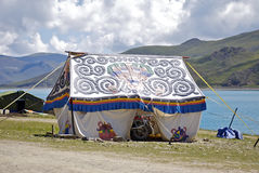 Tibetan tent royalty free stock images
