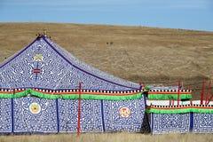 Tibetan Tent Royalty Free Stock Photo