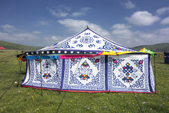 Tibetan Tent Stock Photography