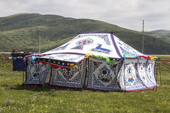 Tibetan Tent House Royalty Free Stock Image