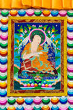 Tibetan thangkas Buddha picture Royalty Free Stock Photos