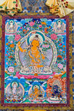 Tibetan thangkas Buddha picture Royalty Free Stock Photography