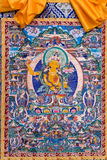 Tibetan thangkas Buddha picture Stock Photo