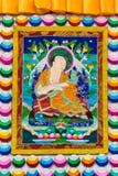 Tibetan thangkasBuddhabild Royaltyfria Foton