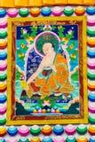 Tibetan thangkasBuddhabild Arkivfoto