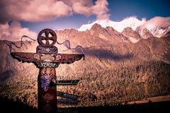 Tibetan totem Royalty Free Stock Photos