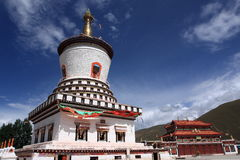 Tibetan tower Stock Photography