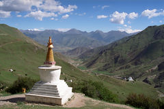 Free Tibetan Traditional Constructions Stupas. Stock Images - 88391964