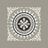 Tibetan traditionell mosaik Royaltyfri Bild