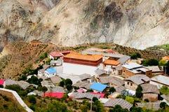Tibetan Village Royalty Free Stock Photography