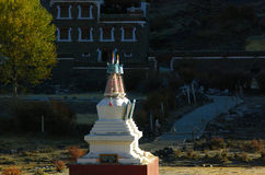 Tibetan village Royalty Free Stock Images