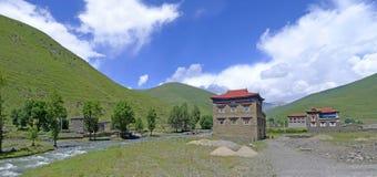 Tibetan  village Royalty Free Stock Photos