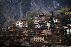 Tibetan village Royalty Free Stock Image