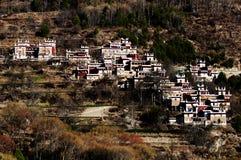 Tibetan village Stock Images