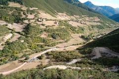 Tibetan villages Royalty Free Stock Photos