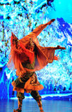 "Tibetan welcome dance-Large scale scenarios show"" The road legend"" Stock Images"