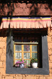 Tibetan window Royalty Free Stock Images