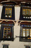 Tibetan windows Royalty Free Stock Photos