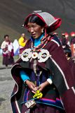Tibetan woman Royalty Free Stock Photo