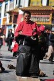 Tibetan woman Royalty Free Stock Images